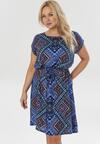 Ciemnoniebieska Sukienka Malithera