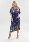 Niebieska Sukienka Brilei