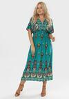 Zielona Sukienka Brilei