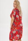 Czerwona Sukienka Molriye