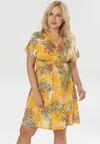 Żółta Sukienka Vivirissa