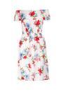 Biała Sukienka Mollato