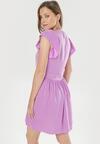 Fioletowa Sukienka Aethea
