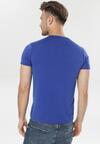 Niebieska Koszulka Leusine