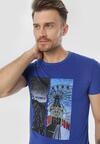 Niebieska Koszulka Viviemora