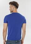 Ciemnoniebieska Koszulka Leunea