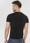 Czarna Koszulka Leunea