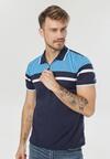 Granatowo-Niebieska Koszulka Talonella