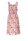 Biało-Czerwona Sukienka Rhenemeni