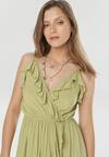 Zielona Sukienka Canorous