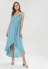 Niebieska Sukienka Canorous