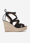 Czarne Sandały Lilea