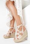 Beżowe Sandały Lilea