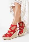 Czerwone Sandały Lilea