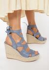 Niebieskie Sandały Lilea