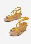 Żółte Sandały Asigonia