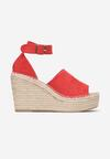 Czerwone Sandały Phianisse