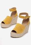 Żółte Sandały Phianisse