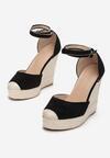 Czarne Sandały Neamerise