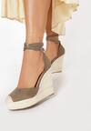 Khaki Sandały Neamerise