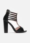 Czarne Sandały Pereitheis