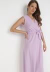 Fioletowa Sukienka Ocearith