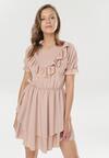 Różowa Sukienka Astereisis