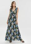 Granatowa Sukienka Bririna