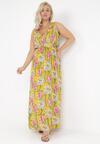 Żółta Sukienka Bririna