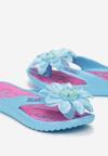 Niebiesko-Różowe Klapki Palanassa