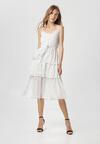 Biała Sukienka Doripise
