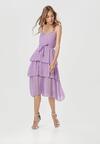 Fioletowa Sukienka Doripise