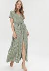 Jasnozielona Sukienka Delmaros