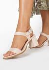 Beżowe Sandały Halime