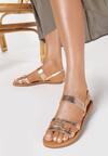 Szampańskie Sandały Delasura