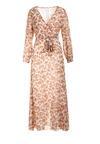 Ciemnobeżowa Sukienka Doryrianne