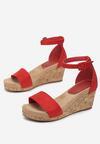 Czerwone Sandały Lorailyn