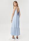 Niebieska Sukienka Adrelei