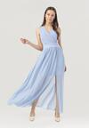 Niebieska Sukienka Corarena