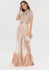 Różowa Sukienka Kalliphite