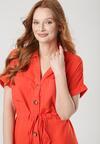 Czerwona Sukienka Talosura