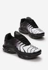 Czarno-Białe Buty Sportowe Mellora