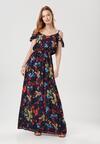 Granatowa Sukienka Diarial