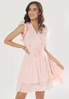 Różowa Sukienka Ermenegilda