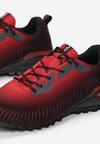 Czarno-Czerwone Buty Sportowe Asilirea