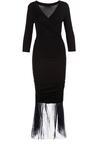 Czarna Sukienka Nerigale