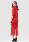 Czerwona Sukienka Nerigale