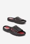 Czarno-Czerwone Klapki Daphlacia