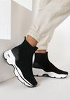 Czarne Sneakersy Iphanassa