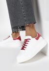 Biało-Czerwone Sneakersy Neamesa